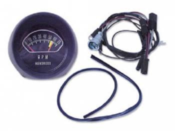 H&H Classic Parts - Dash Mount Tach Kit (7000 RPM) - Image 1