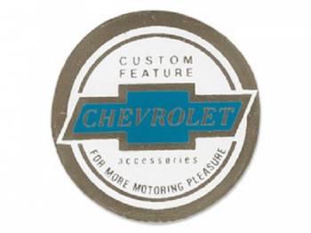 Jim Osborn Reproductions - Seat Belt Decal - Image 1