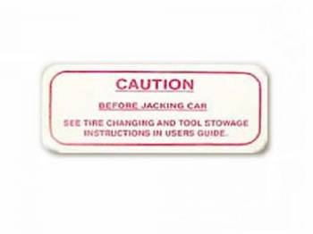 Jim Osborn Reproductions - Caution Jack Decal - Image 1