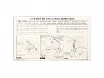 Jim Osborn Reproductions - Jack Instruction Decal - Image 1