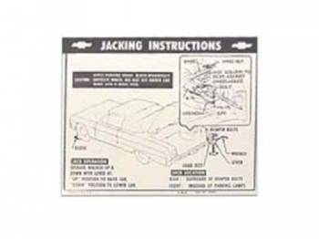 Jim Osborn Reproductions - Jack Instruction Decal - Image 1