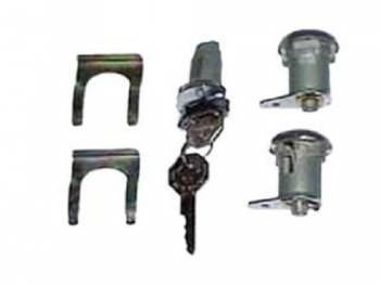 PY Classic Locks - Door & Ignition Lock Set - Image 1
