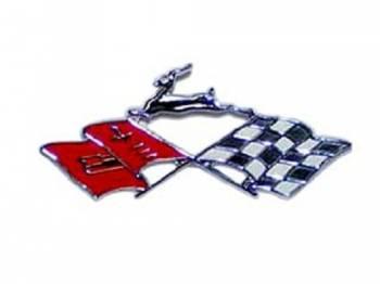H&H Classic Parts - Quarter Panel Flag Emblem - Image 1