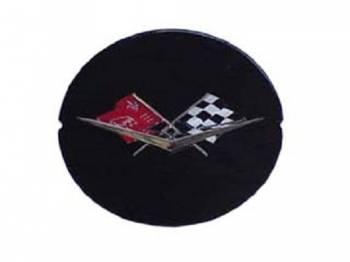 Trim Parts USA - Wheel SPInner Emblem (Black) - Image 1