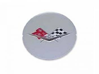 Trim Parts USA - Wheel SPInner Emblem (Silver) - Image 1
