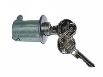 PY Classic Locks - Glove Box Lock with Keys - Image 1