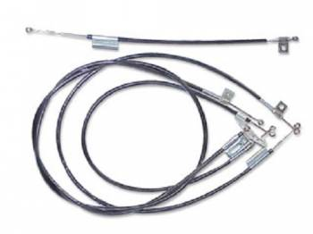 Old Air Products - Heater/AC Control Cables - Image 1