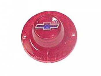 Trim Parts USA - Taillight Lens with Blue Dot Bowtie - Image 1