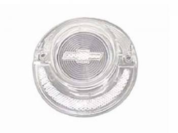 Trim Parts USA - Clear Taillight Lens with Bowtie - Image 1