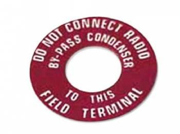 Jim Osborn Reproductions - Generator Warning Tag - Image 1