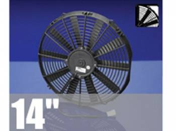 "Spal USA - 14"" Pusher Electric Fan - Image 1"