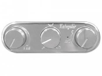 Vintage Air - GEN IV Magnum Polished Horizontal Control - Image 1