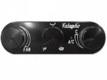 Vintage Air - GEN IV Magnum Black Anodized Horizontal Control - Image 1