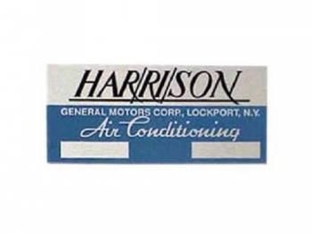 Jim Osborn Reproductions - Harrison Evaporator Box Plate - Image 1