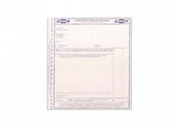 Jim Osborn Reproductions - New Car Price Sticker - Image 1