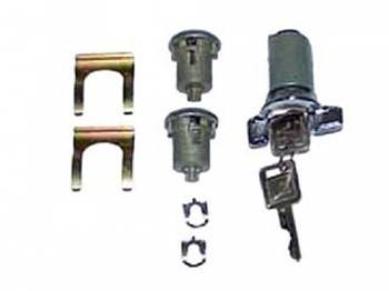 Ignition & Door Lock Set | 1969-70 Impala or Caprice or Bel-Air or Biscayne | PY Classic Locks | 11241