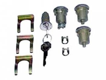 PY Classic Locks - Ignition/Door/Trunk Lock Set - Image 1