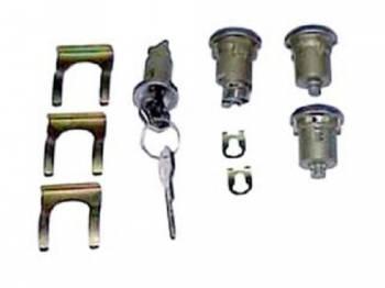 PY Classic Locks - Ignition/Door/Trunk Lock Set