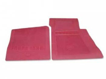 OER (Original Equipment Reproduction) - Floor Mats Red - Image 1