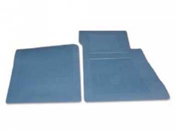 OER (Original Equipment Reproduction) - Floor Mats Medium Blue - Image 1