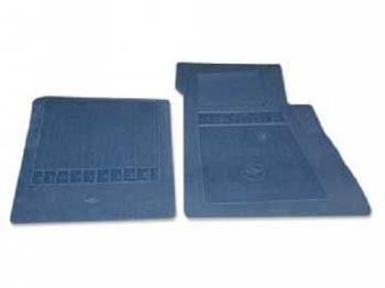 OER (Original Equipment Reproduction) - Floor Mats Dark Blue - Image 1