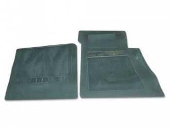 OER (Original Equipment Reproduction) - Floor Mats Dark Green - Image 1