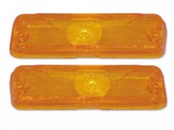 Trim Parts USA - Parklight Lens Amber - Image 1
