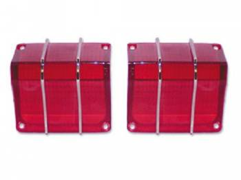 RestoParts (OPGI) - Taillight Lens with Trim - Image 1