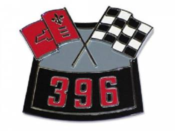 Trim Parts - 396 Air Cleaner Emblem - Image 1