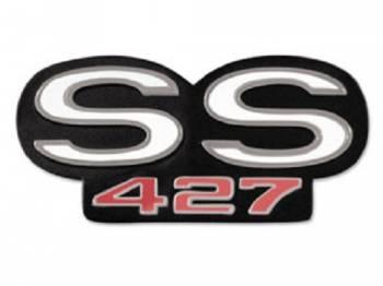 Trim Parts - Grille Emblem SS 427 - Image 1