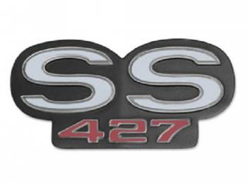 Trim Parts USA - Rear Panel Emblem SS 427 - Image 1