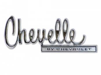 Trim Parts USA - Trunk Emblem (Chevelle By Chevrolet) - Image 1