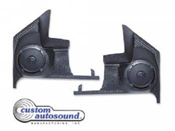 Custom Auto Sound - Kick Panel Speakers - Image 1