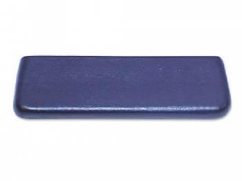 RestoParts (OPGI) - Rear Arm Rest Pad Black - Image 1