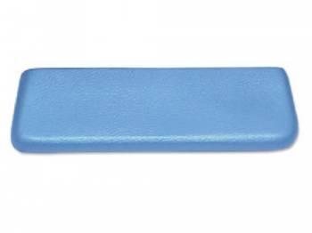 RestoParts (OPGI) - Rear Arm Rest Pad Light Blue - Image 1