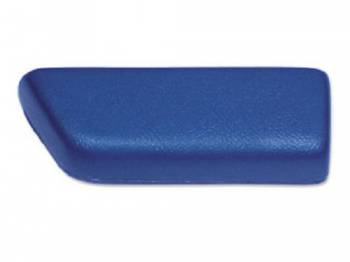 RestoParts (OPGI) - Rear Arm Rest Pad LH Dark Blue - Image 1