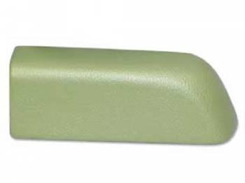 RestoParts (OPGI) - Rear Arm Rest Pad LH Light Green - Image 1