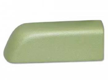 RestoParts (OPGI) - Rear Arm Rest Pad RH Light Green - Image 1