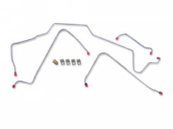 Classic Performance Products - Power Disc Brake Line Kit - Image 1