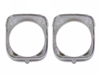 Dynacorn International LLC - Inner & Outer Headlight Bezels LH - Image 1