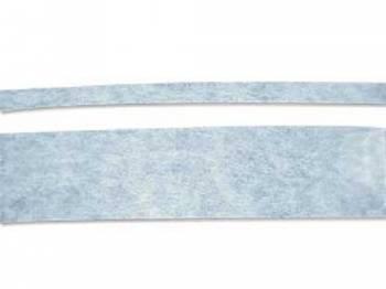 RestoParts - Body Stripe Kit Black - Image 1
