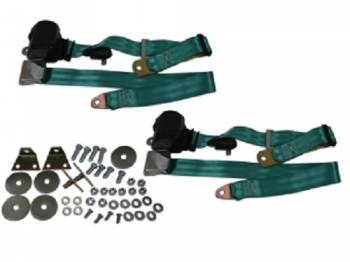 Seatbelt Solutions - 3-Point Seat Belts Turquoise - Image 1