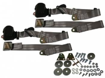 Seatbelt Solutions - 3-Point Seat Belts Gray - Image 1