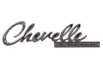 Trim Parts USA - Trunk Lid Emblem (Chevelle By Chevrolet) - Image 1