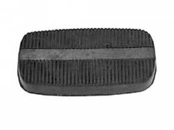 H&H Classic Parts - Brake Pedal Pad (Vertical Ribs)