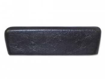 RestoParts - Rear Arm Rest Pad Black - Image 1
