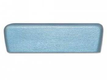 RestoParts - Rear Arm Rest Pad Light Blue - Image 1