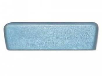 RestoParts - Rear Arm Rest Pad Light Blue