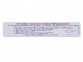Jim Osborn Reproductions - Emission Decal - Image 1