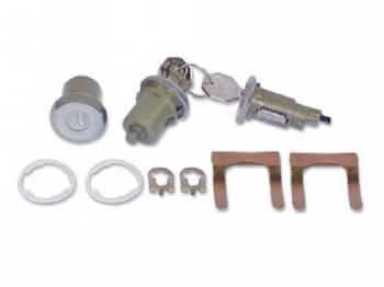 PY Classic Locks - Ignition & Door Lock Set